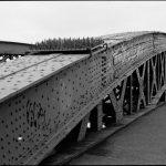 Nahaufnahme des westlichen Brückenbogens