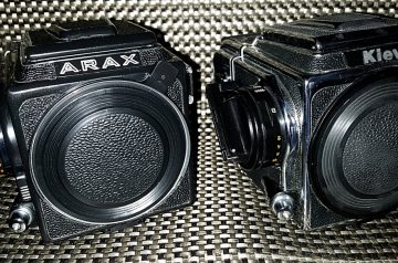 Arax und Kiev88 nebeneinander